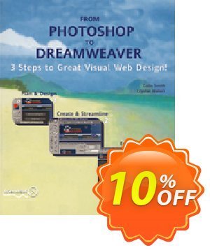From Photoshop to Dreamweaver (Smith) 프로모션 코드 From Photoshop to Dreamweaver (Smith) Deal 프로모션: From Photoshop to Dreamweaver (Smith) Exclusive Easter Sale offer for iVoicesoft