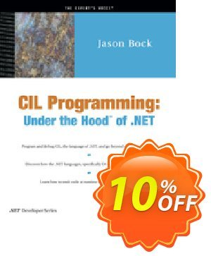 CIL Programming (Bock) 프로모션 코드 CIL Programming (Bock) Deal 프로모션: CIL Programming (Bock) Exclusive Easter Sale offer for iVoicesoft