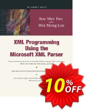 XML Programming Using the Microsoft XML Parser (Lee) discount coupon XML Programming Using the Microsoft XML Parser (Lee) Deal - XML Programming Using the Microsoft XML Parser (Lee) Exclusive Easter Sale offer for iVoicesoft
