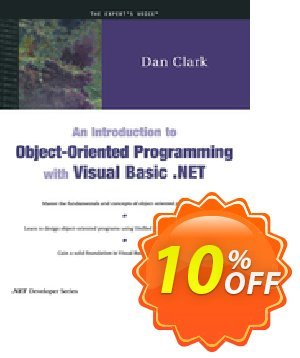 An Introduction to Object-Oriented Programming with Visual Basic .NET (Clark) discount coupon An Introduction to Object-Oriented Programming with Visual Basic .NET (Clark) Deal - An Introduction to Object-Oriented Programming with Visual Basic .NET (Clark) Exclusive Easter Sale offer for iVoicesoft