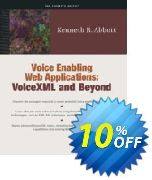 Voice Enabling Web Applications (Abbott) discount coupon Voice Enabling Web Applications (Abbott) Deal - Voice Enabling Web Applications (Abbott) Exclusive Easter Sale offer for iVoicesoft