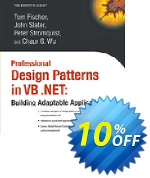 Professional Design Patterns in VB .NET (Wu) discount coupon Professional Design Patterns in VB .NET (Wu) Deal - Professional Design Patterns in VB .NET (Wu) Exclusive Easter Sale offer for iVoicesoft
