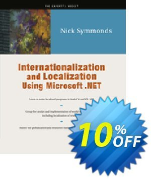 Internationalization and Localization Using Microsoft .NET (Symmonds) discount coupon Internationalization and Localization Using Microsoft .NET (Symmonds) Deal - Internationalization and Localization Using Microsoft .NET (Symmonds) Exclusive Easter Sale offer for iVoicesoft