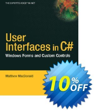 User Interfaces in C# (MacDonald) discount coupon User Interfaces in C# (MacDonald) Deal - User Interfaces in C# (MacDonald) Exclusive Easter Sale offer for iVoicesoft