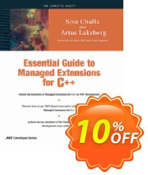 Essential Guide to Managed Extensions for C++ (Laksberg) discount coupon Essential Guide to Managed Extensions for C++ (Laksberg) Deal - Essential Guide to Managed Extensions for C++ (Laksberg) Exclusive Easter Sale offer for iVoicesoft