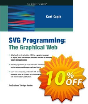 SVG Programming (Cagle) Coupon, discount SVG Programming (Cagle) Deal. Promotion: SVG Programming (Cagle) Exclusive Easter Sale offer for iVoicesoft