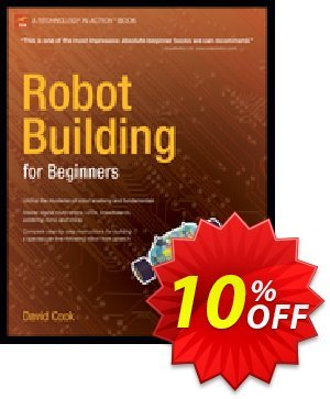Robot Building for Beginners (Cook) discount coupon Robot Building for Beginners (Cook) Deal - Robot Building for Beginners (Cook) Exclusive Easter Sale offer for iVoicesoft