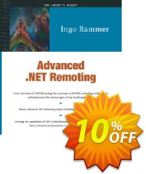 Advanced .NET Remoting (C# Edition) (Rammer) discount coupon Advanced .NET Remoting (C# Edition) (Rammer) Deal - Advanced .NET Remoting (C# Edition) (Rammer) Exclusive Easter Sale offer for iVoicesoft