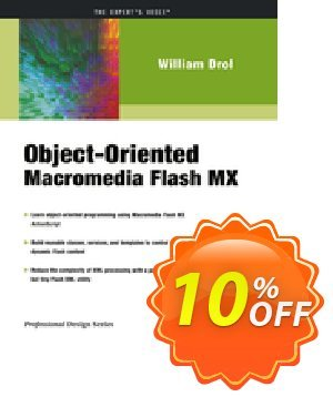 Object-Oriented Macromedia Flash MX (Drol) discount coupon Object-Oriented Macromedia Flash MX (Drol) Deal - Object-Oriented Macromedia Flash MX (Drol) Exclusive Easter Sale offer for iVoicesoft