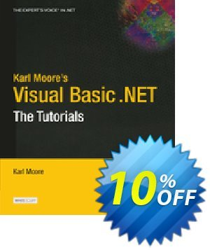 Karl Moore's Visual Basic .NET (Moore) discount coupon Karl Moore's Visual Basic .NET (Moore) Deal - Karl Moore's Visual Basic .NET (Moore) Exclusive Easter Sale offer for iVoicesoft