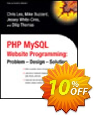 PHP MySQL Website Programming (Thomas) 프로모션 코드 PHP MySQL Website Programming (Thomas) Deal 프로모션: PHP MySQL Website Programming (Thomas) Exclusive Easter Sale offer for iVoicesoft