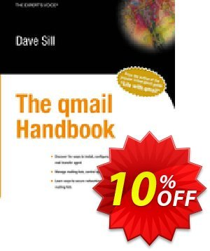 The qmail Handbook (Sill) discount coupon The qmail Handbook (Sill) Deal - The qmail Handbook (Sill) Exclusive Easter Sale offer for iVoicesoft