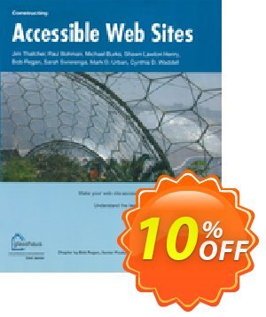 Constructing Accessible Web Sites (Waddell) 프로모션 코드 Constructing Accessible Web Sites (Waddell) Deal 프로모션: Constructing Accessible Web Sites (Waddell) Exclusive Easter Sale offer for iVoicesoft
