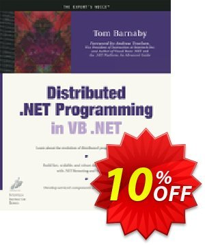 Distributed .NET Programming in VB .NET (Barnaby) discount coupon Distributed .NET Programming in VB .NET (Barnaby) Deal - Distributed .NET Programming in VB .NET (Barnaby) Exclusive Easter Sale offer for iVoicesoft