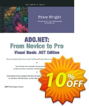 ADO.NET (Wright) discount coupon ADO.NET (Wright) Deal - ADO.NET (Wright) Exclusive Easter Sale offer for iVoicesoft