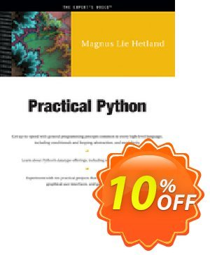 Practical Python (Lie Hetland) 프로모션 코드 Practical Python (Lie Hetland) Deal 프로모션: Practical Python (Lie Hetland) Exclusive Easter Sale offer for iVoicesoft