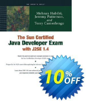 The Sun Certified Java Developer Exam with J2SE 1.4 (Patterson) discount coupon The Sun Certified Java Developer Exam with J2SE 1.4 (Patterson) Deal - The Sun Certified Java Developer Exam with J2SE 1.4 (Patterson) Exclusive Easter Sale offer for iVoicesoft
