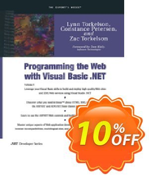 Programming the Web with Visual Basic .NET (Petersen) discount coupon Programming the Web with Visual Basic .NET (Petersen) Deal - Programming the Web with Visual Basic .NET (Petersen) Exclusive Easter Sale offer for iVoicesoft