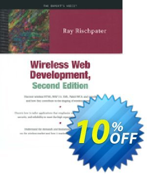 Wireless Web Development (Rischpater) discount coupon Wireless Web Development (Rischpater) Deal - Wireless Web Development (Rischpater) Exclusive Easter Sale offer for iVoicesoft