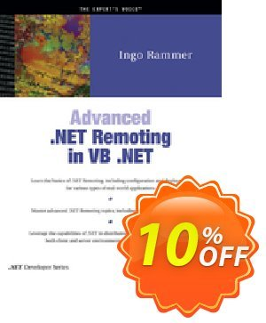 Advanced .NET Remoting in VB .NET (Rammer) discount coupon Advanced .NET Remoting in VB .NET (Rammer) Deal - Advanced .NET Remoting in VB .NET (Rammer) Exclusive Easter Sale offer for iVoicesoft