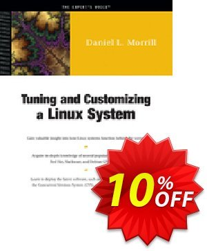 Tuning and Customizing a Linux System (Morrill) discount coupon Tuning and Customizing a Linux System (Morrill) Deal - Tuning and Customizing a Linux System (Morrill) Exclusive Easter Sale offer for iVoicesoft
