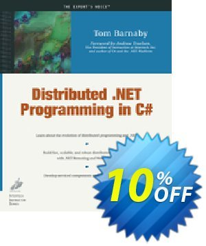 Distributed .NET Programming in C# (Barnaby) 프로모션 코드 Distributed .NET Programming in C# (Barnaby) Deal 프로모션: Distributed .NET Programming in C# (Barnaby) Exclusive Easter Sale offer for iVoicesoft