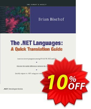 The .NET Languages (Bischof) discount coupon The .NET Languages (Bischof) Deal - The .NET Languages (Bischof) Exclusive Easter Sale offer for iVoicesoft