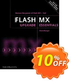 Flash MX Upgrade Essentials (Bhangal) discount coupon Flash MX Upgrade Essentials (Bhangal) Deal - Flash MX Upgrade Essentials (Bhangal) Exclusive Easter Sale offer for iVoicesoft