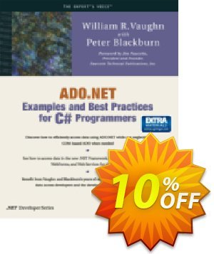 ADO.NET Examples and Best Practices for C# Programmers (Blackburn) discount coupon ADO.NET Examples and Best Practices for C# Programmers (Blackburn) Deal - ADO.NET Examples and Best Practices for C# Programmers (Blackburn) Exclusive Easter Sale offer for iVoicesoft