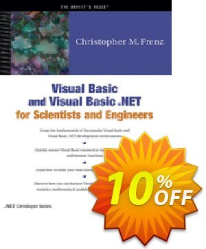 Visual Basic and Visual Basic .NET for Scientists and Engineers (Frenz) discount coupon Visual Basic and Visual Basic .NET for Scientists and Engineers (Frenz) Deal - Visual Basic and Visual Basic .NET for Scientists and Engineers (Frenz) Exclusive Easter Sale offer for iVoicesoft