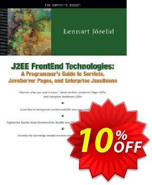 J2EE FrontEnd Technologies (Jorelid) discount coupon J2EE FrontEnd Technologies (Jorelid) Deal - J2EE FrontEnd Technologies (Jorelid) Exclusive Easter Sale offer for iVoicesoft