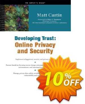Developing Trust (Curtin) discount coupon Developing Trust (Curtin) Deal - Developing Trust (Curtin) Exclusive Easter Sale offer for iVoicesoft