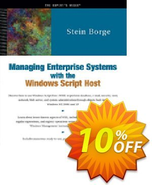 Managing Enterprise Systems with the Windows Script Host (Borge) Coupon discount Managing Enterprise Systems with the Windows Script Host (Borge) Deal. Promotion: Managing Enterprise Systems with the Windows Script Host (Borge) Exclusive Easter Sale offer for iVoicesoft