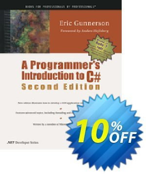 A Programmer's Introduction to C# (Gunnerson) Coupon, discount A Programmer's Introduction to C# (Gunnerson) Deal. Promotion: A Programmer's Introduction to C# (Gunnerson) Exclusive Easter Sale offer for iVoicesoft