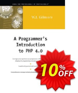 A Programmer's Introduction to PHP 4.0 (Gilmore) discount coupon A Programmer's Introduction to PHP 4.0 (Gilmore) Deal - A Programmer's Introduction to PHP 4.0 (Gilmore) Exclusive Easter Sale offer for iVoicesoft