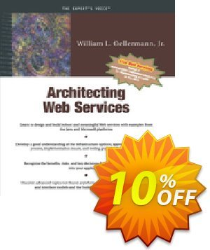 Architecting Web Services (Oellermann) Coupon discount Architecting Web Services (Oellermann) Deal. Promotion: Architecting Web Services (Oellermann) Exclusive Easter Sale offer for iVoicesoft