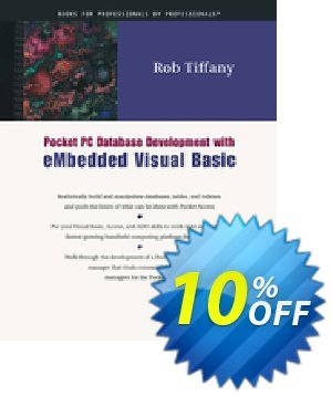 Pocket PC Database Development with eMbedded Visual Basic (Tiffany) discount coupon Pocket PC Database Development with eMbedded Visual Basic (Tiffany) Deal - Pocket PC Database Development with eMbedded Visual Basic (Tiffany) Exclusive Easter Sale offer for iVoicesoft