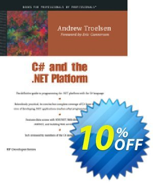 C# and the .NET Platform (Troelsen) discount coupon C# and the .NET Platform (Troelsen) Deal - C# and the .NET Platform (Troelsen) Exclusive Easter Sale offer for iVoicesoft