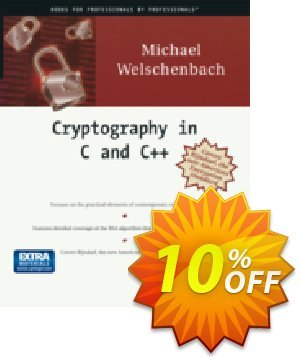 Cryptography in C and C++ (Welschenbach) discount coupon Cryptography in C and C++ (Welschenbach) Deal - Cryptography in C and C++ (Welschenbach) Exclusive Easter Sale offer for iVoicesoft