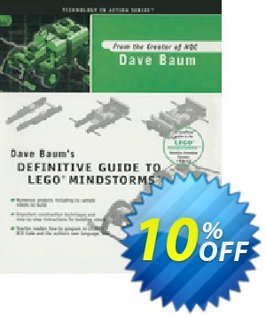 Dave Baum's Definitive Guide to LEGO MINDSTORMS (Baum) discount coupon Dave Baum's Definitive Guide to LEGO MINDSTORMS (Baum) Deal - Dave Baum's Definitive Guide to LEGO MINDSTORMS (Baum) Exclusive Easter Sale offer for iVoicesoft
