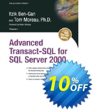 Advanced Transact-SQL for SQL Server 2000 (Ben-Gan) discount coupon Advanced Transact-SQL for SQL Server 2000 (Ben-Gan) Deal - Advanced Transact-SQL for SQL Server 2000 (Ben-Gan) Exclusive Easter Sale offer for iVoicesoft