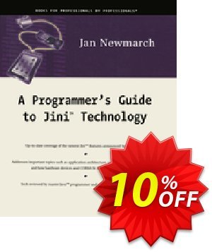 A Programmer's Guide to Jini Technology (Newmarch) discount coupon A Programmer's Guide to Jini Technology (Newmarch) Deal - A Programmer's Guide to Jini Technology (Newmarch) Exclusive Easter Sale offer for iVoicesoft