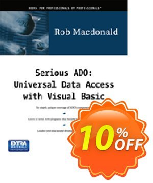 Serious ADO (MacDonald) Coupon, discount Serious ADO (MacDonald) Deal. Promotion: Serious ADO (MacDonald) Exclusive Easter Sale offer for iVoicesoft