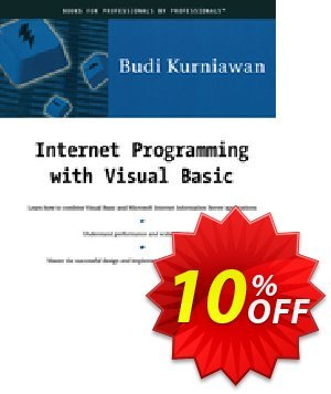 Internet Programming with Visual Basic (Kurniawan) discount coupon Internet Programming with Visual Basic (Kurniawan) Deal - Internet Programming with Visual Basic (Kurniawan) Exclusive Easter Sale offer for iVoicesoft