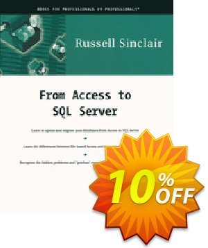 From Access to SQL Server (Sinclair)割引コード・From Access to SQL Server (Sinclair) Deal キャンペーン:From Access to SQL Server (Sinclair) Exclusive Easter Sale offer for iVoicesoft