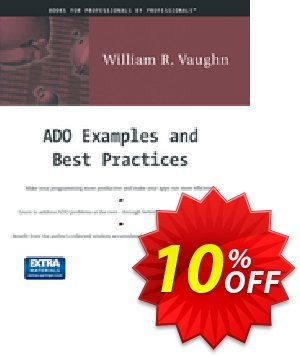 ADO Examples and Best Practices (Vaughn) Coupon discount ADO Examples and Best Practices (Vaughn) Deal. Promotion: ADO Examples and Best Practices (Vaughn) Exclusive Easter Sale offer for iVoicesoft