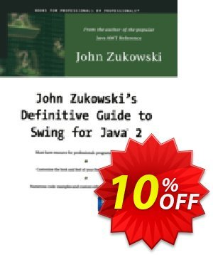 John Zukowski's Definitive Guide to Swing for Java 2 (Zukowski) discount coupon John Zukowski's Definitive Guide to Swing for Java 2 (Zukowski) Deal - John Zukowski's Definitive Guide to Swing for Java 2 (Zukowski) Exclusive Easter Sale offer for iVoicesoft