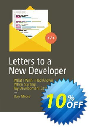 Letters to a New Developer (Moore) Coupon discount Letters to a New Developer (Moore) Deal. Promotion: Letters to a New Developer (Moore) Exclusive Easter Sale offer for iVoicesoft