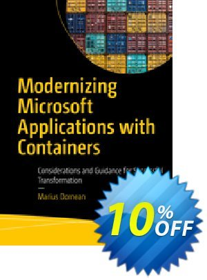 Modernizing Microsoft Applications with Containers (Dornean) 프로모션 코드 Modernizing Microsoft Applications with Containers (Dornean) Deal 프로모션: Modernizing Microsoft Applications with Containers (Dornean) Exclusive Easter Sale offer for iVoicesoft