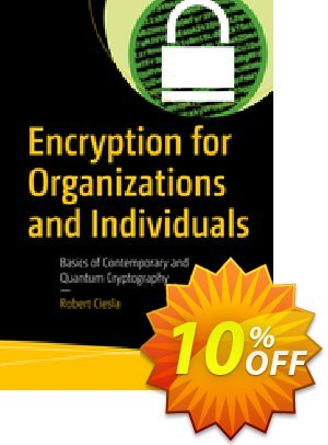 Encryption for Organizations and Individuals (Ciesla) 프로모션 코드 Encryption for Organizations and Individuals (Ciesla) Deal 프로모션: Encryption for Organizations and Individuals (Ciesla) Exclusive Easter Sale offer for iVoicesoft